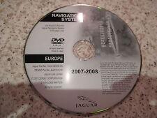 JAGUAR 2007-2008 sat nav disque satellite navigation dvd rom envoi gratuit europe