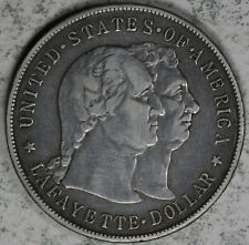 1900 Lafayette Commemorative Silver Dollar  - Cleaned