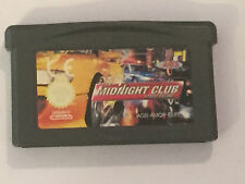 NINTENDO GAME BOY GAMEBOY ADVANCE GBA SP +MICRO GAME MIDNIGHT CLUB STREET RACING