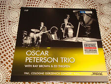 OSCAR PETERSON TRIO Unreleased Master Concert Cologne 1961 WDR JAZZLINE 2 LP NEW