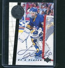 1996 Upper Deck Be a Player S192 Dominik Hasek auto hard signed in the crease