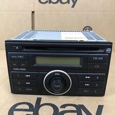 2007 2008 2009 Nissan Versa Radio Stereo AM/FM Single CD Player PN-2871L 6.B6