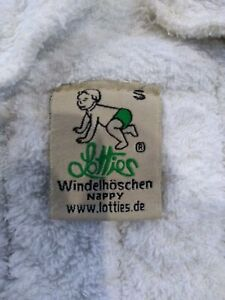 17x Size 1 Small Lottie's Organic Cotton Reusable Nappies + Inserts bundle