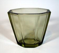Art Déco Glas Vase Facetten Schliff ELIS BERGH für Kosta Glasswork Sweden 1933