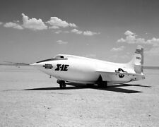 X-1E ON LAKEBED BELL X-1 11x14 SILVER HALIDE PHOTO PRINT