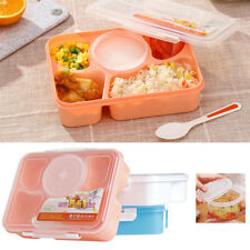 Microwave Bento Lunch Box Picnic Food Fruit Container Storage For Kids Adult