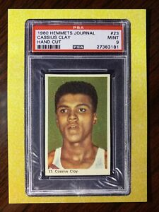 2021 Heritage Auctions National PROMO Card Cassius Clay Muhammad Ali RC ***READ