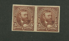 UNITED STATES - Plate Proof Pair # 255P5 XF NH Large Margins - S8204