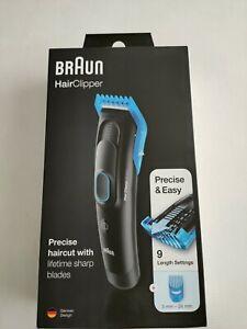 BRAUN HC5010 HAIR CLIPPER WITH 9 length SETTINGS