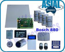 Bosch Alarm Solution 880 Kit w/4 Blue Line Gen2 PIR  2 Remotes Free Programming