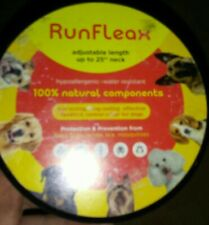 Run Fleax 100% Natural Component Dog Flea Collar