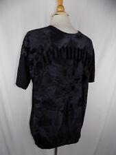 Redemption Carbon Black & Gray s/s Shirt Men's Sz XL Eagle Wings Cross