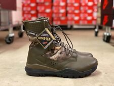"Nike SFB Field 2 8"" Mens Hunting Boots Brown Realtree Camo AQ1203-200 NEW Sz 10"