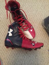 Under Armour Mens Cleats Size  11 Texas