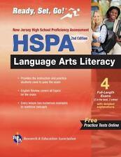 New Jersey HSPA Language Arts Literacy w/Bonus Online Tests (REA) (Test Preps)