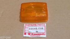 NOS. 1982 AR 50 80 New Genuine Kawasaki Stanley Indicator Lens P/No. 23048-1015