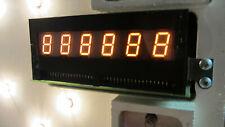 Bally Stern Pinball 6 Digit Display, Tested, Working