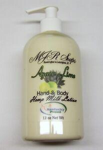 12 oz Hemp Lotion- Super moisturizing! No Coconut or Palm Oils by MJR Soaps