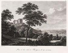 SIEBENEICHEN (MEISSEN) - Schloss Siebeneichen - Frenzel - Kupferstich 1816
