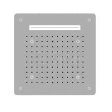 Soffione Doccia LED a Soffitto Installazione Da Incasso Con Cascata Acciaio Inox