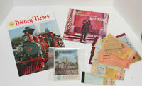 Vintage Disneyland Tickets, Disney News, Guide, Great Moments with Mr. Lincoln