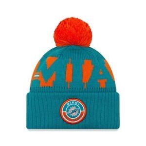 Miami Dolphins On Field NFL New Era Beanie Hat | New w/Tags | Top Quality Brand
