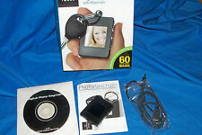 Keychain Digital Photo Album Sharper Image Computer Picture Portable Key Ring PC