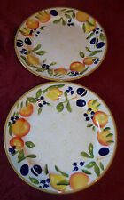 "New listing Casa Moda Orchard dinner Plates, 10 7/8"" D Set of 2"