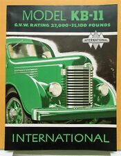 1948 International Harvester Truck Model KB 11 Sales Brochure & Specifications