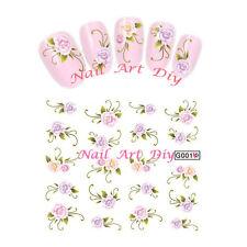 Nail art water sticker transfers-Adesivi con Fiori per Unghie e Ricostruzione!!!