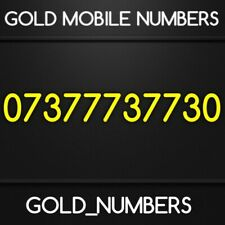 EASY GOLD GOLDEN MOBILE PHONE NUMBER SIM 07377737730