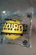 Mcdonald Happy Meal Toys 2020 Minion  Rise Of Gru,#20 Sealed Bag