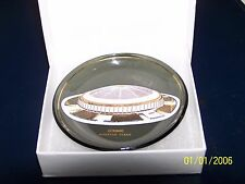 1965 Houston Astrodome Astros Original Vintage Glass Dish Ashtray Plate 3.25""