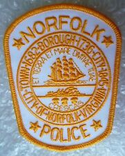 Patch- City of Norfolk Virginia US Police Patch (NEW*)