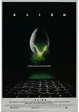 Alien - Ridley Scott - Sigourrney Weaver - John Hurt - A4 Laminated Mini Poster