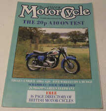 Classic MC Oct 1986 Zundapp KS601,Velocette KSS,AJS trials,Rudge Caravan,BSA A10
