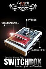 TOUR DE MAGIE SWITCH BOX DE MICKAEL CHATELAIN GIMMICK NEUF