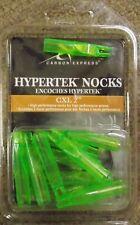 Carbon Express Archery Cxl HyperTek Nocks 12 pack - Flo Green W3417