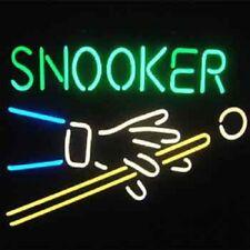 """New Snooker Billiards Game Room Bar Beer Neon Light Sign 17""""x14"""""""