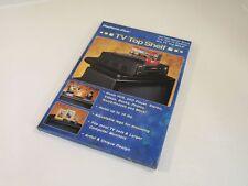 Jobar TV Top Shelf Platform Plus Black Contemporary JB3339