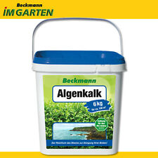 Beckmann 6 kg Algenkalk Spurenelemente Buchsbaum Gesundheit Widerstandskraft