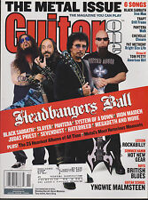 GUITAR ONE MAGAZINE NOVEMBER 2003 *THE METAL ISSUE*
