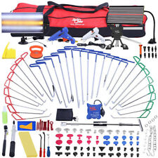 168pcs PDR Tools Push Rods Dent Puller Lifter Paintless Hail Repair Removal Set