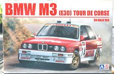 1989 BMW M 3 E 30 Tour de Corse 1:24 Aoshima Beemax 105061