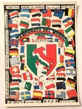 Cartolina Campionato Del Mondo 1990 - C'Ero Anch'Io Stemma Italia Stivale