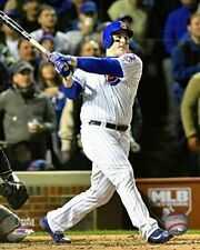 """Anthony Rizzo Chicago Cubs 2016 World Series Action Photo (Size: 8"""" x 10"""")"""