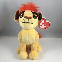 "Ty Beanie Baby 6"" KION the Lion (Disney The Lion Guard) Plush Animal Toy MWMTs"