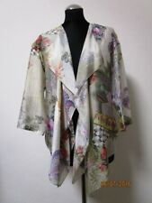 ETRO women's peisley floral cardigan poncho silk 100% size 40