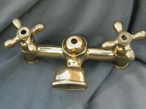 Vintage Brass Tub/Sink? Faucet Estate Find