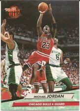 1992-93 FLEER ULTRA MICHAEL JORDAN CARD #27 CHICAGO BULLS